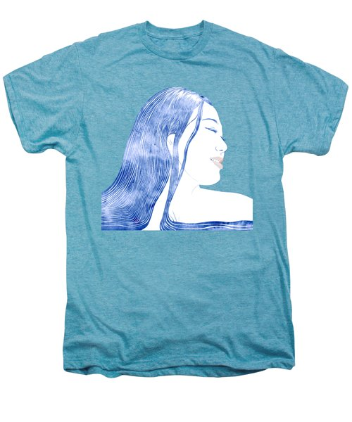 Water Nymph X Men's Premium T-Shirt by Stevyn Llewellyn