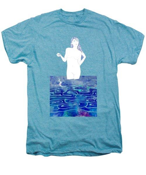Water Nymph Xc Men's Premium T-Shirt by Stevyn Llewellyn