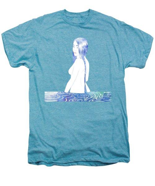 Water Nymph Xcii Men's Premium T-Shirt by Stevyn Llewellyn