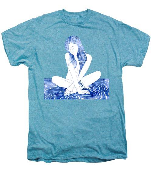Water Nymph Xcviii Men's Premium T-Shirt by Stevyn Llewellyn