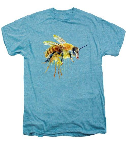 Watercolor Bee Men's Premium T-Shirt