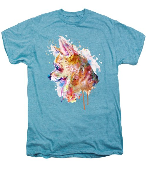 Watercolor Chihuahua  Men's Premium T-Shirt