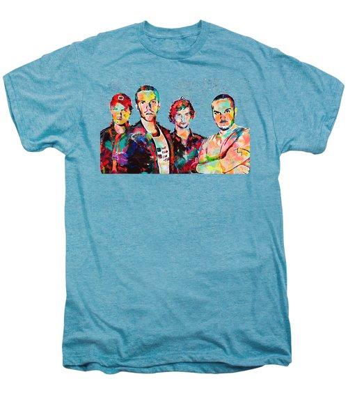 Watercolor Coldplay Men's Premium T-Shirt