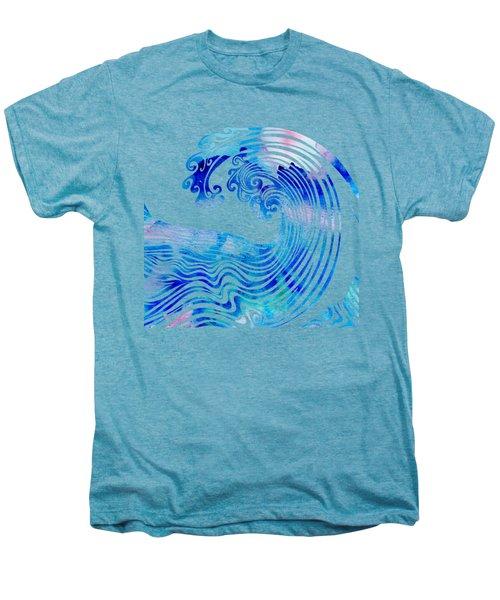 Waveland Men's Premium T-Shirt by Stevyn Llewellyn