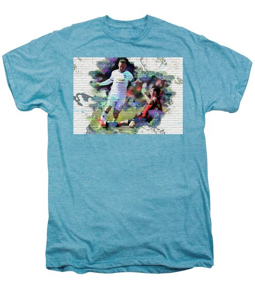 Wayne Rooney Street Art Men's Premium T-Shirt by Don Kuing