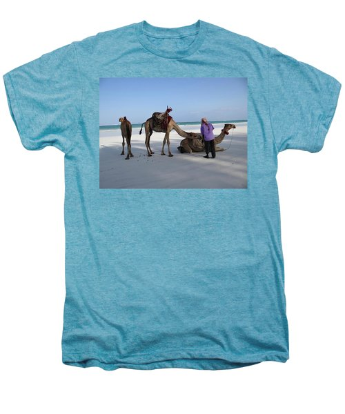 Wedding Camels In The Waiting ... Men's Premium T-Shirt