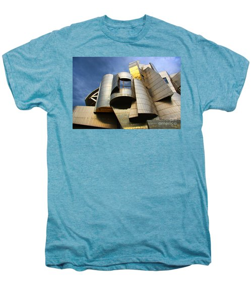 Weisman Art Museum University Of Minnesota Men's Premium T-Shirt by Wayne Moran