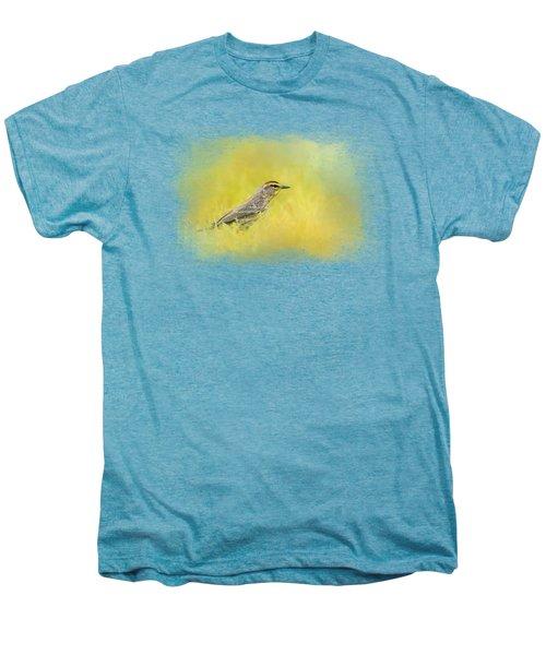 Welcome New Friend Men's Premium T-Shirt by Jai Johnson