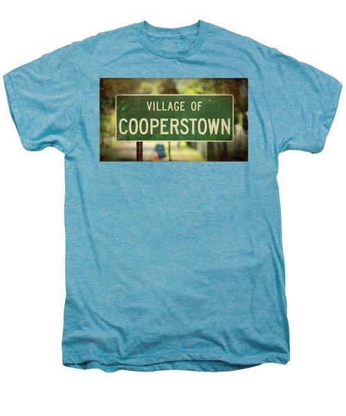 Welcome To Cooperstown Men's Premium T-Shirt