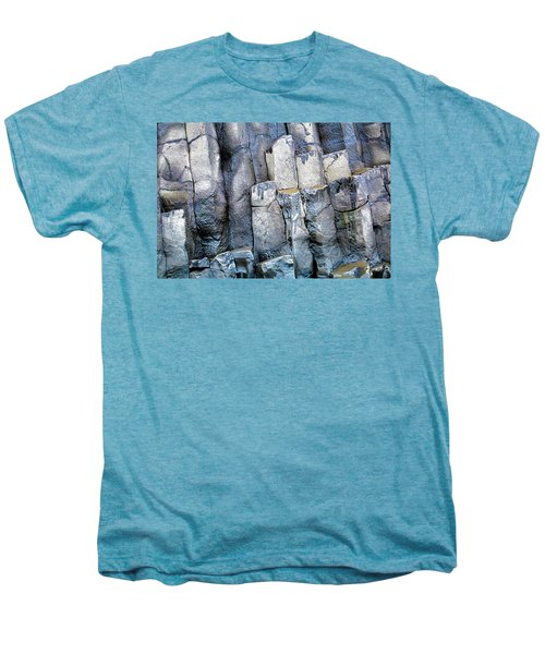 Men's Premium T-Shirt featuring the photograph Wet Rocks 2 by Hitendra SINKAR