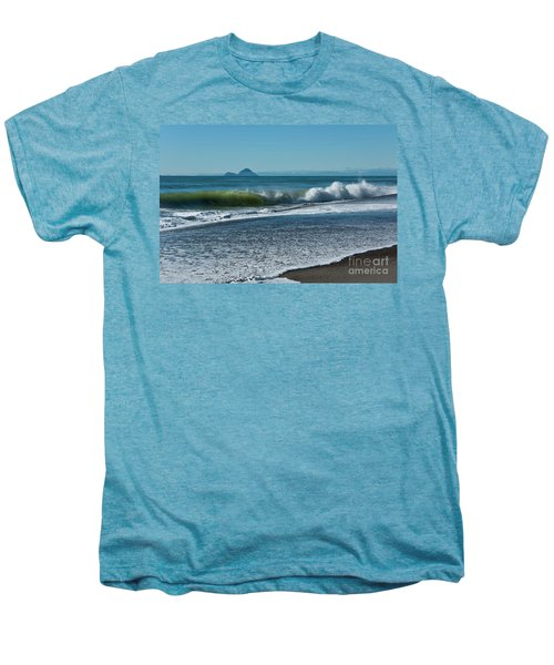 Men's Premium T-Shirt featuring the photograph Whale Island by Werner Padarin