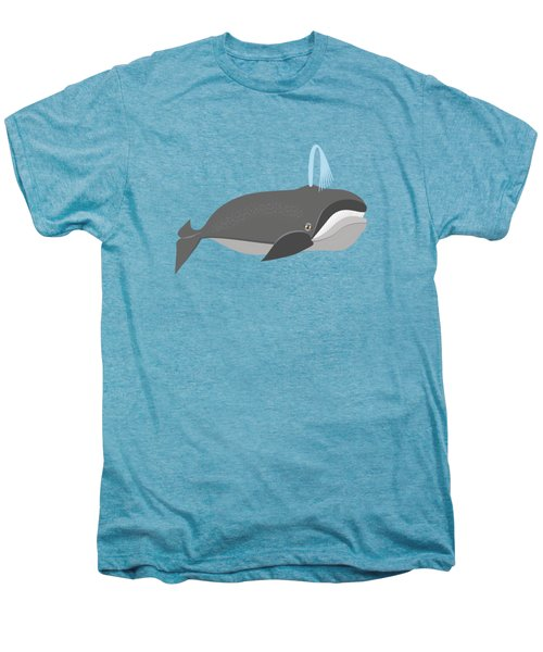 Whale Of A Good Time Men's Premium T-Shirt by Antique Images