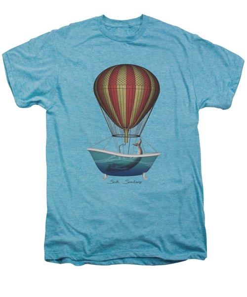 Seek Sanctuary Men's Premium T-Shirt by Galen Valle