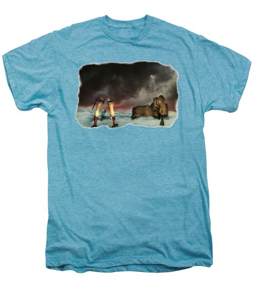 Where Giants Dwell Men's Premium T-Shirt by Terry Fleckney