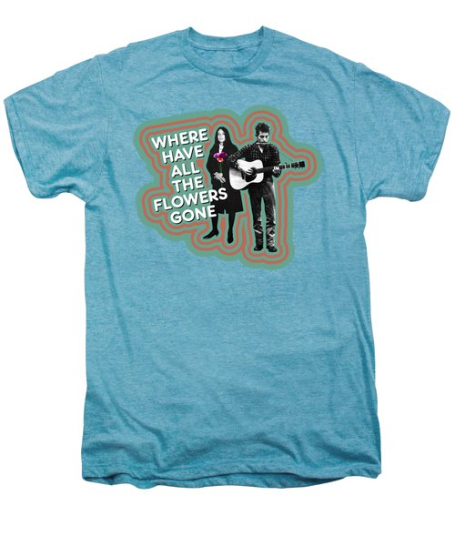 Where Have All The Flowers Gone Men's Premium T-Shirt
