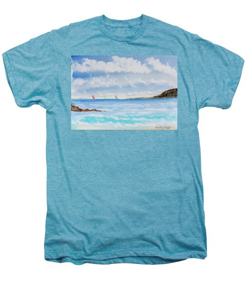 Where There's A Wind, There's A Race Men's Premium T-Shirt