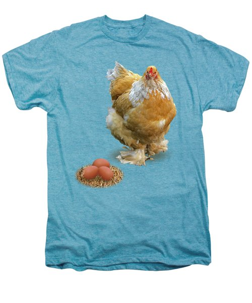 Which Came First - Chicken And Eggs Men's Premium T-Shirt