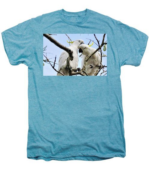 White Cockatoos Men's Premium T-Shirt