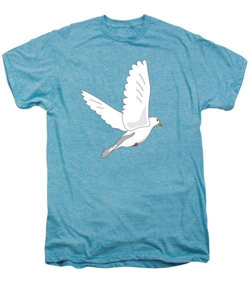White Dove Men's Premium T-Shirt by Miroslav Nemecek