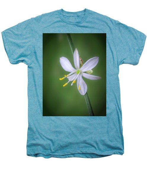 White Flower Men's Premium T-Shirt