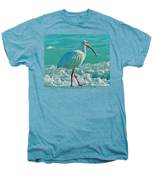 White Ibis Paradise Men's Premium T-Shirt