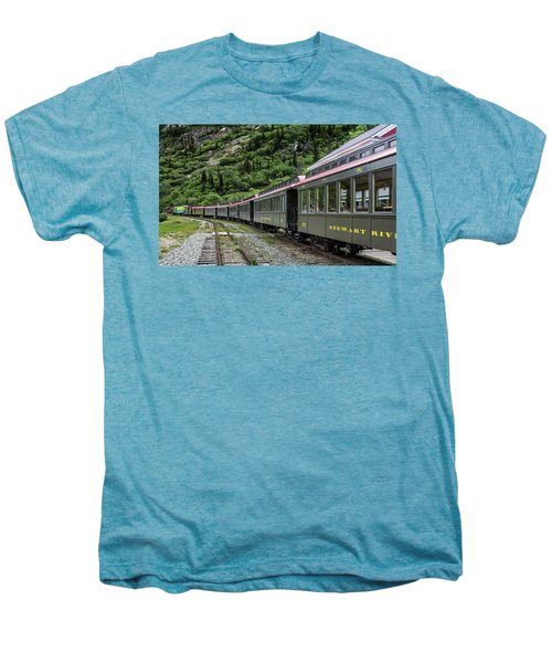 White Pass And Yukon Railway Men's Premium T-Shirt