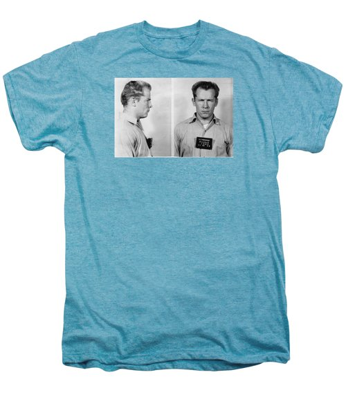 Whitey Bulger Mug Shot Men's Premium T-Shirt by Edward Fielding