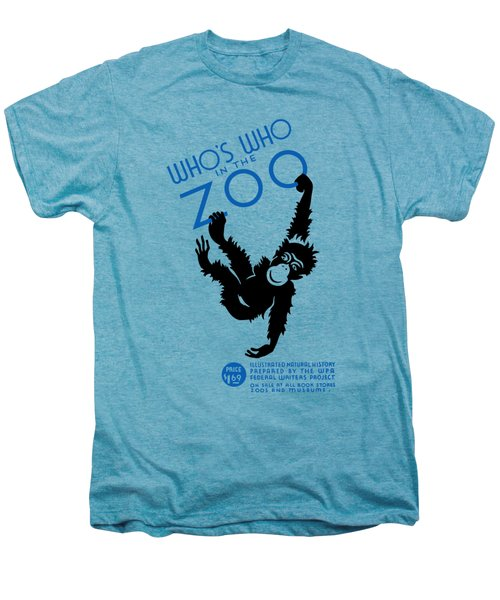 Who's Who In The Zoo - Wpa Men's Premium T-Shirt