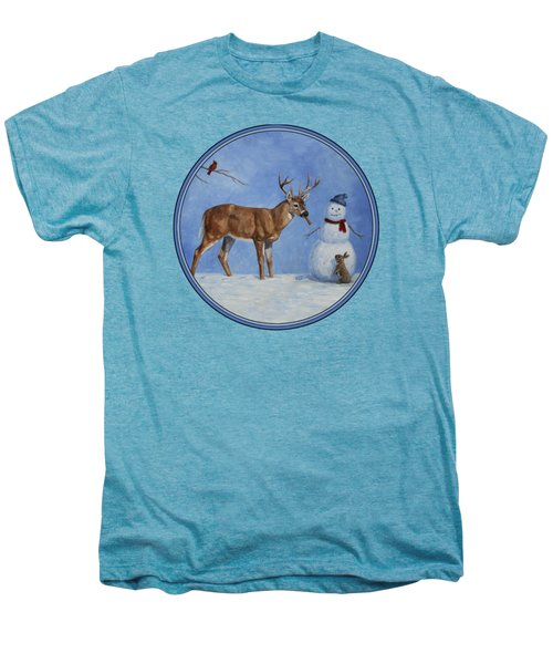 Whose Carrot Seasons Greeting Men's Premium T-Shirt by Crista Forest