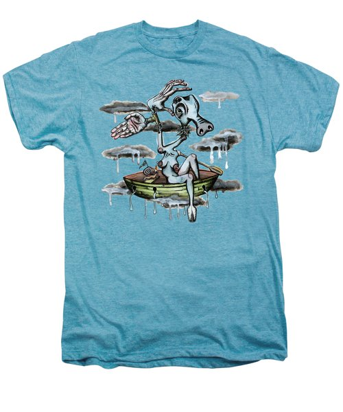 Why Sky Captain Men's Premium T-Shirt by Kelly Jade King