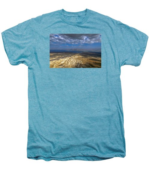 Wide View From Masada Men's Premium T-Shirt