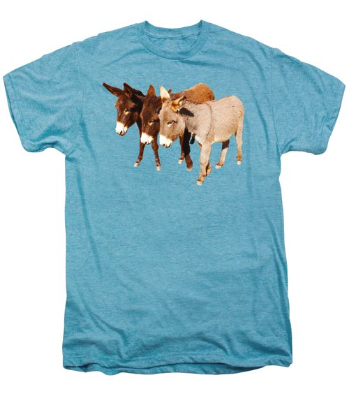 Wild Burro Buddies Men's Premium T-Shirt
