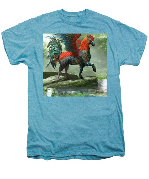 Wild Hippalektryon Men's Premium T-Shirt by Ryan Barger