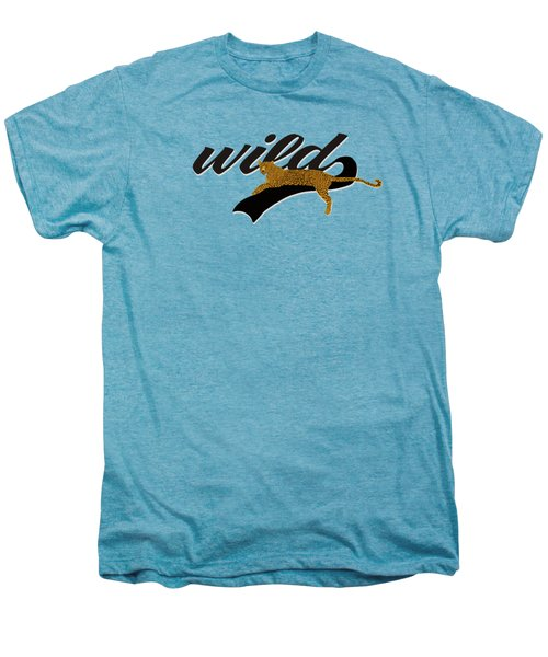Wild Men's Premium T-Shirt by Priscilla Wolfe
