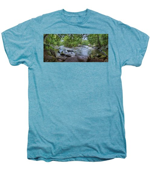 Men's Premium T-Shirt featuring the photograph Wilderness Waterway by Bill Pevlor