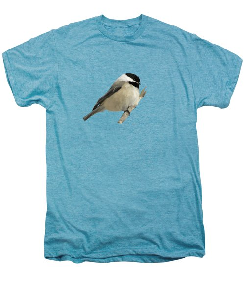 Willow Tit Men's Premium T-Shirt by Bamalam  Photography