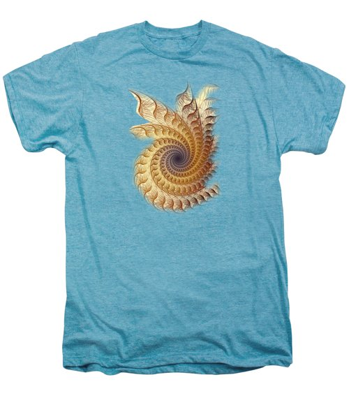 Men's Premium T-Shirt featuring the digital art Winding by Anastasiya Malakhova