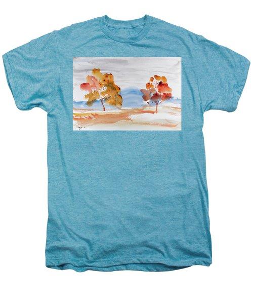 Windy Autumn Colours  Men's Premium T-Shirt