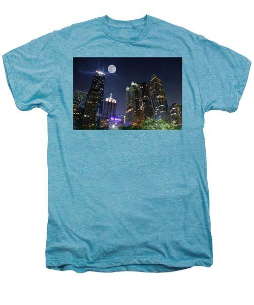 Windy City Men's Premium T-Shirt by Frozen in Time Fine Art Photography