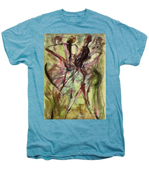 Windy Day Men's Premium T-Shirt by Ikahl Beckford
