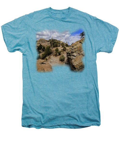 Windy Point No.13 Men's Premium T-Shirt by Mark Myhaver