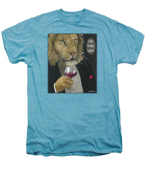 Wine King... Men's Premium T-Shirt by Will Bullas
