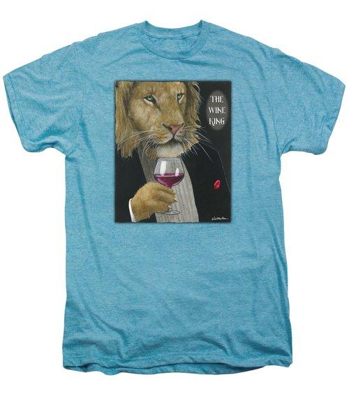 Wine King... Men's Premium T-Shirt