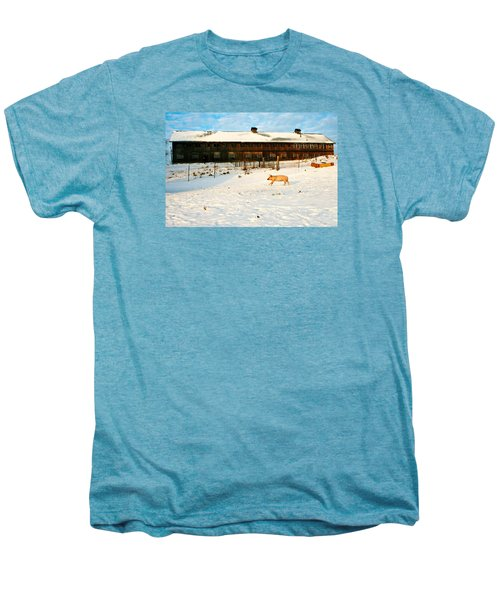 Winnie At Heartland Farm Sanctuary Men's Premium T-Shirt