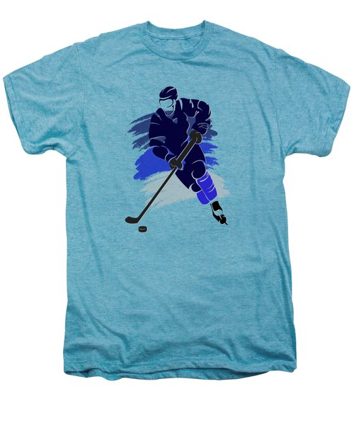 Winnipeg Jets Player Shirt Men's Premium T-Shirt by Joe Hamilton