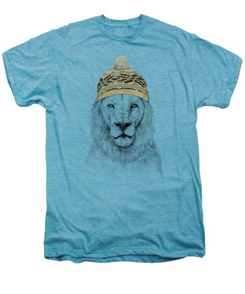 Winter Is Coming Men's Premium T-Shirt by Balazs Solti
