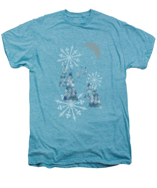 Winter Night Men's Premium T-Shirt