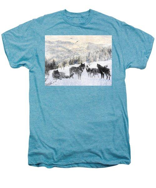 Winter Wolves Men's Premium T-Shirt