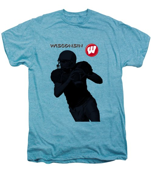Wisconsin Football Men's Premium T-Shirt