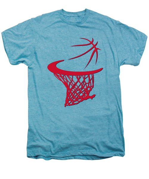 Wizards Basketball Hoop Men's Premium T-Shirt